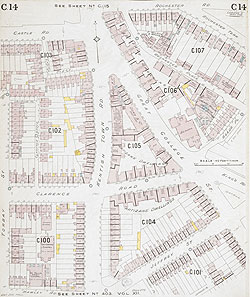 Insurance Plan of London North West District Vol. C: sheet 14